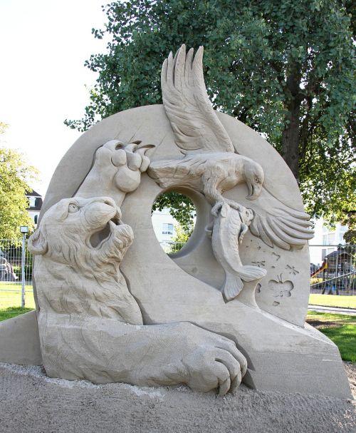 sand sculpture festival sculpture