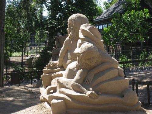 sand sculpture korkeasaari helsinki