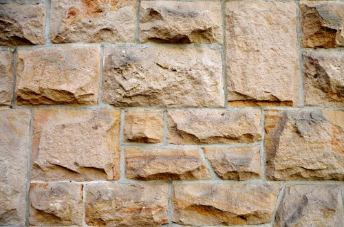 sand stone wall structure