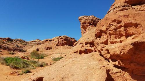 sand stone park rocks
