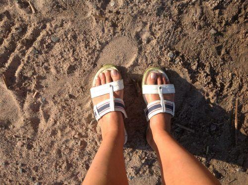 sandals beach summer