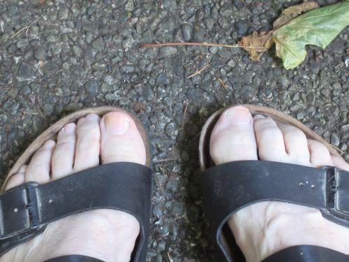 Sandals Closeup