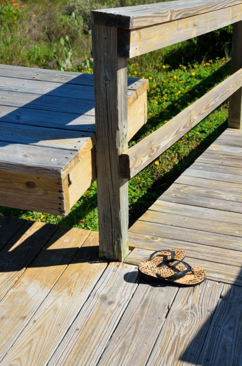 Sandals Left Behind