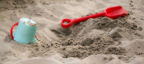 sandbox children child