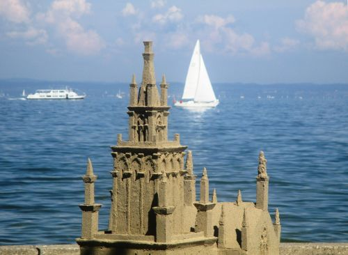 sandburg lake constance sand sculpture