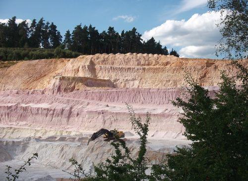 sandpit open pit mining sand