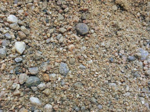 smėlis, smėlis, fonas, modelis, akmenukai, gamta, smėlis