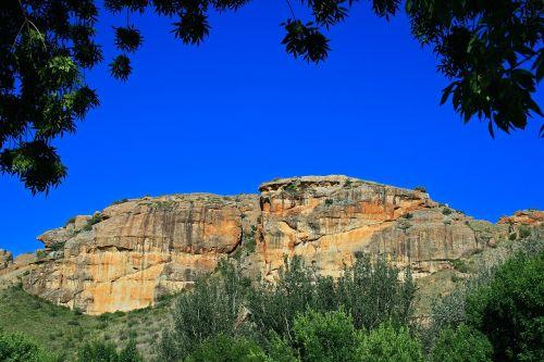 sandstone mountain mountain sandstone
