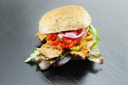 sandwich sausage salami