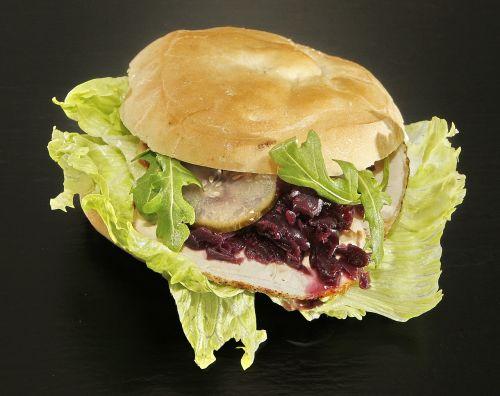 sandwich christmas sandwich pork loin