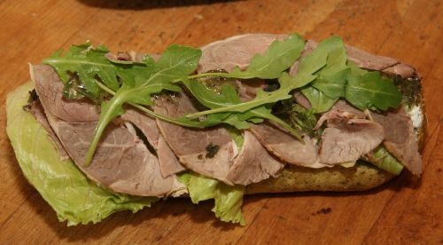 sandwich leg of lamb lamb