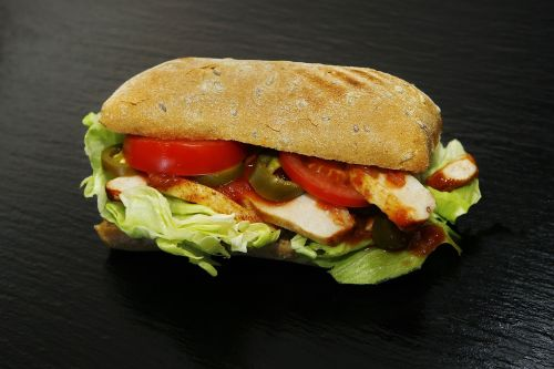 sandwich tex mex food
