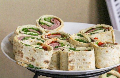 sandwich  wrap  turkey