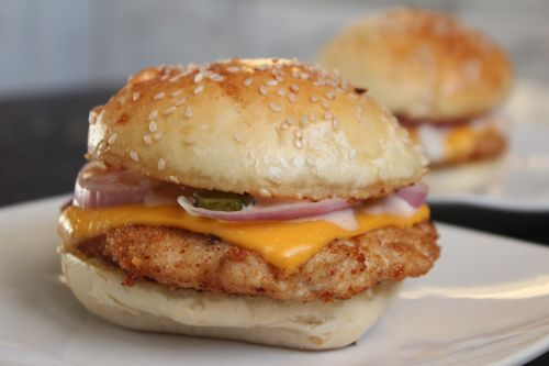 sandwich fast food hamburger