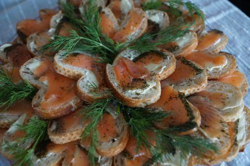 sandwiches salmon btot