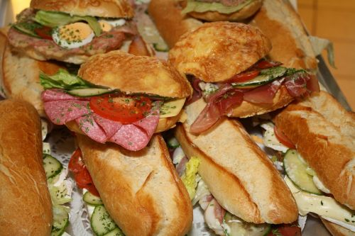 sandwiches roll snack