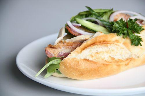 sandwiches lunch salad
