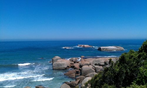llandudno south africa sea rock