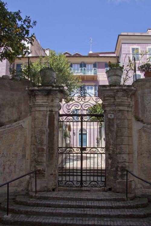 sanremo old town villa