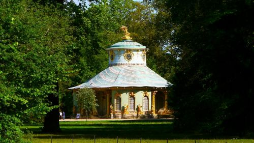 sanssouci park tea house