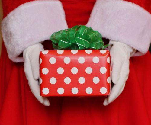santa christmas present present