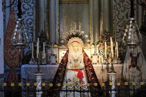 santa church altar