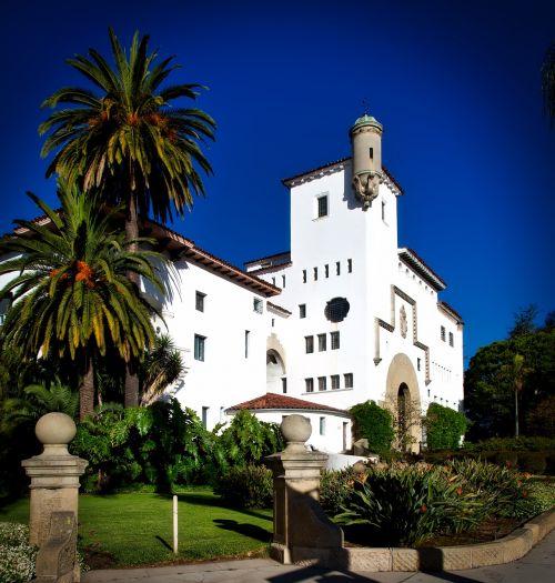 santa barbara california courthouse
