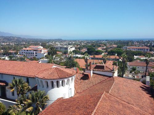 santa barbara city view