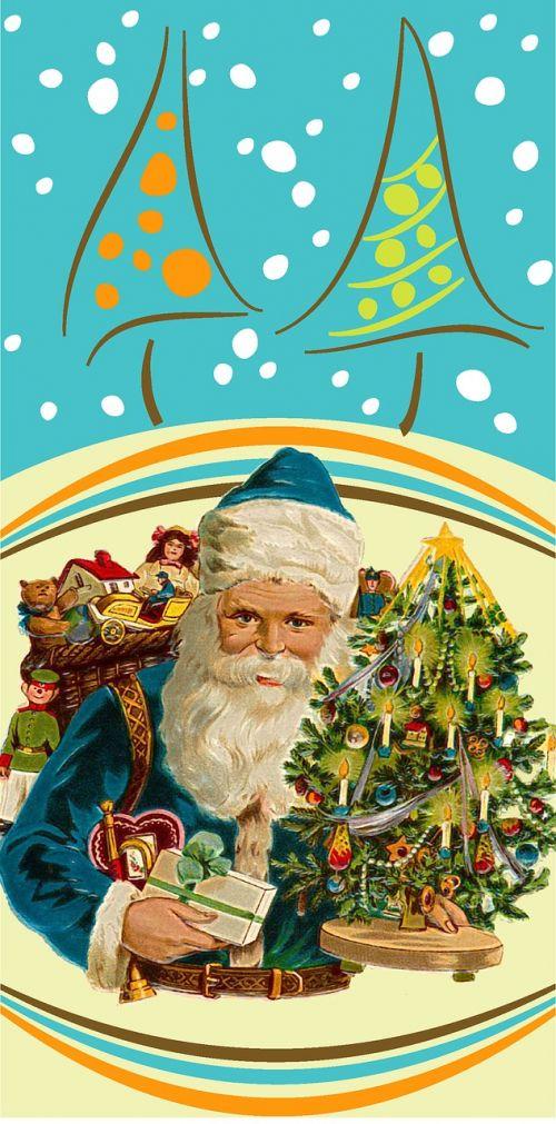 santa claus christmas family parties