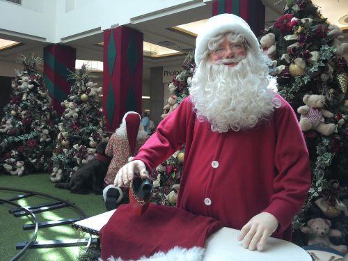 santa claus christmas parties