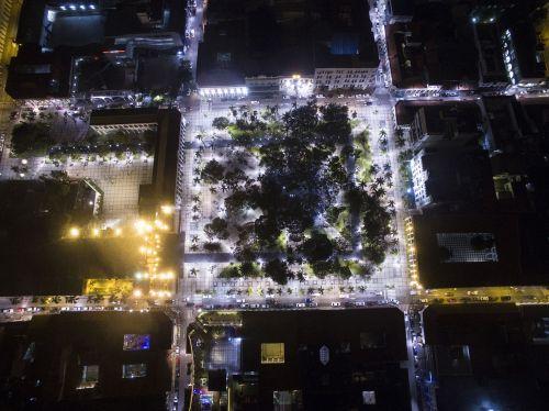 santa cruz plaza photo air