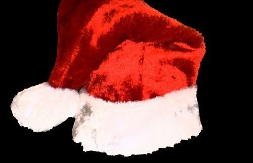 Santa Joy Christmas Party Isolated