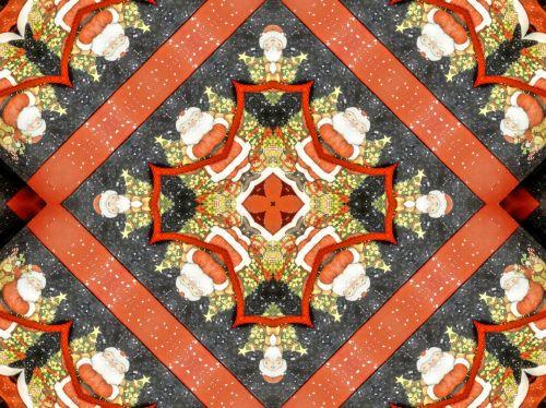 Santa Kaleidoscope