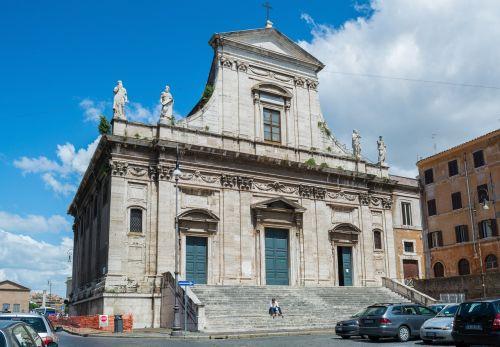 santa maria della konsolatsione rome italy