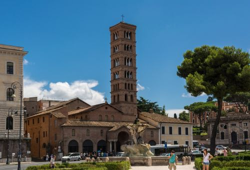 santa maria in cosmedin basilica church
