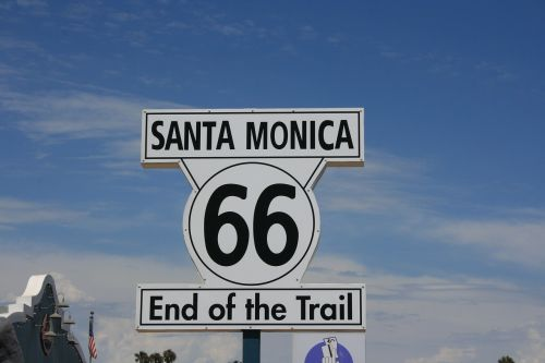 santa monica route 66 end of