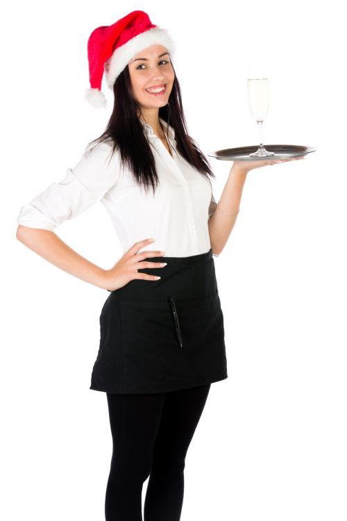 Santa Waitress