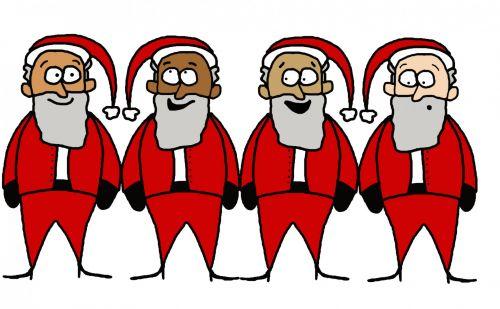 Santas Illustration
