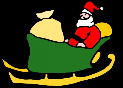 santa's sleigh santas sleigh santa