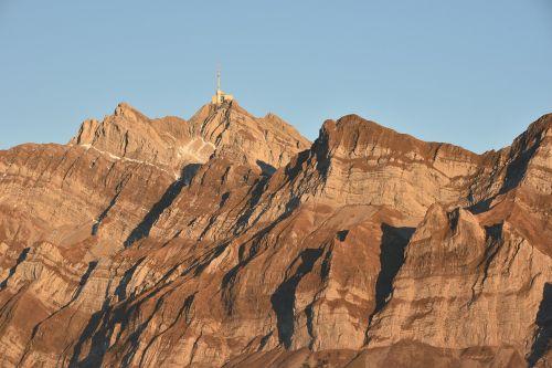 säntis mountains swiss alps