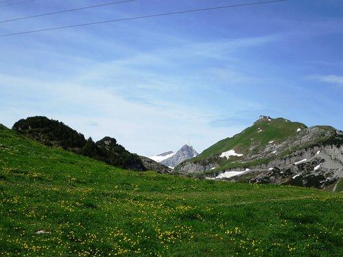 säntis  appenzell  mountains