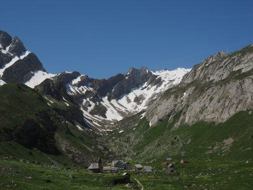säntis bergdorf meglisalp