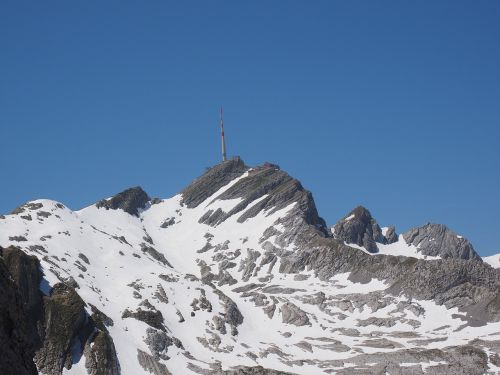 säntis mountain alpine