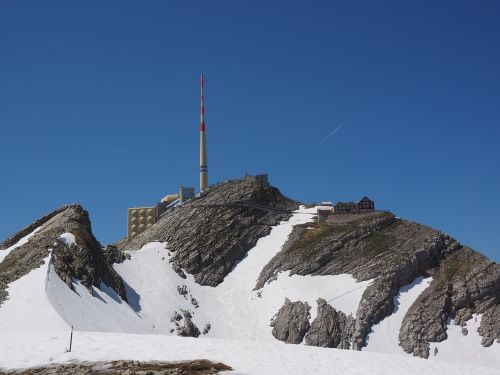 säntis mountain alpstein