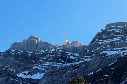 säntis summit mountains