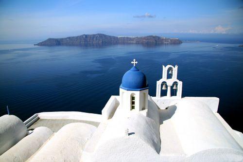 santorini greek island caldera