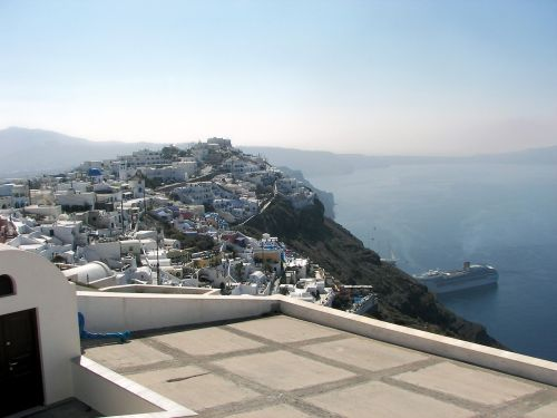 santorini cyclades greece