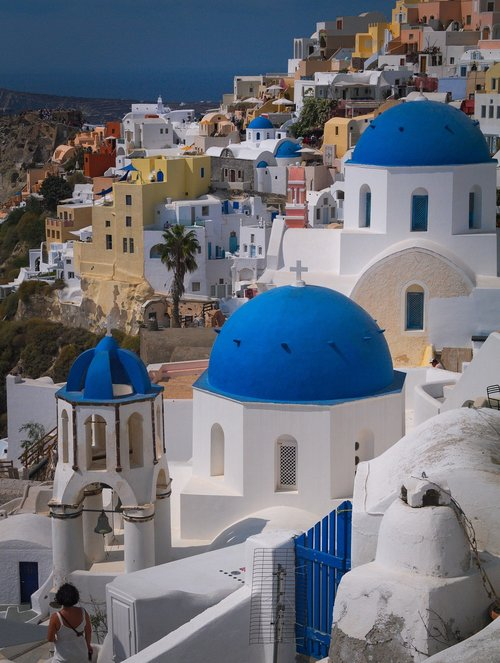 santorini  traditional  greece