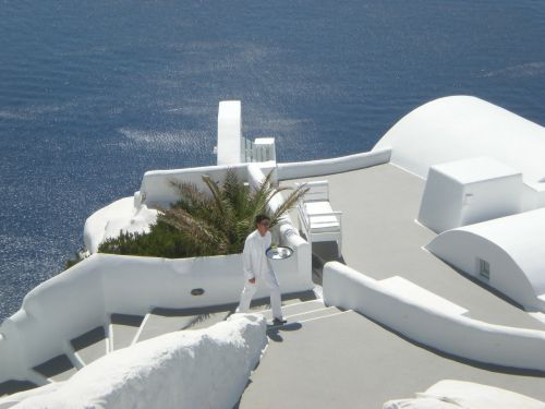 santorini greek island greece