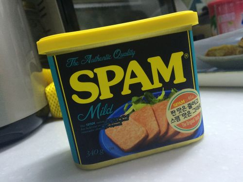 spam sausage ham